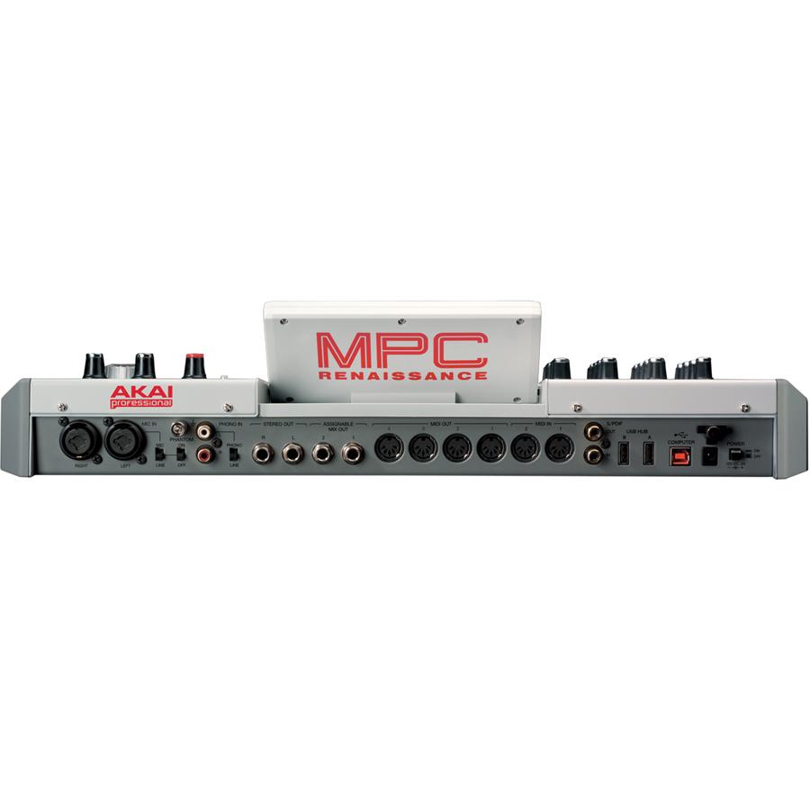 Akai Professional MPC Renaissance Controller Rear View