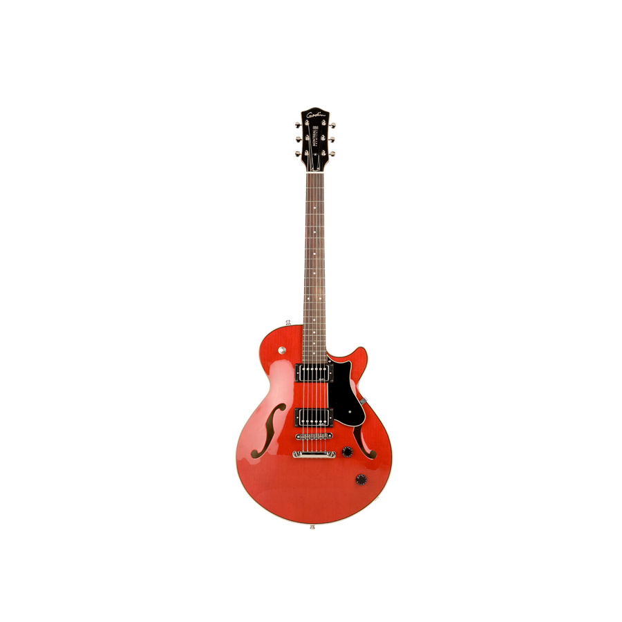Godin Montreal Premiere Natural Transparent Red