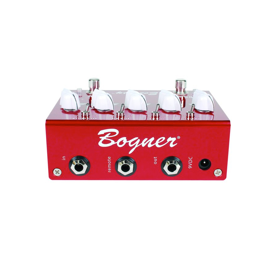 Bogner Ecstacy Red Rear View