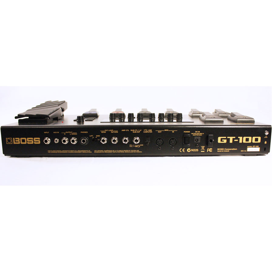 Boss GT-100 Refurbished Angled View