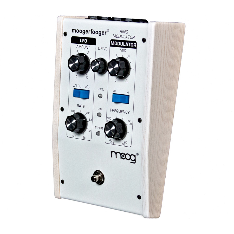 Moog MF-102 Ring Modulator White Angled View
