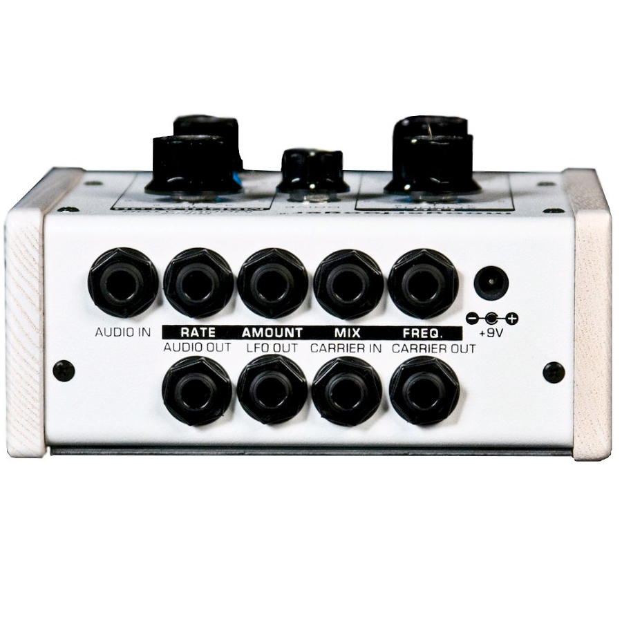 Moog MF-102 Ring Modulator White Rear View