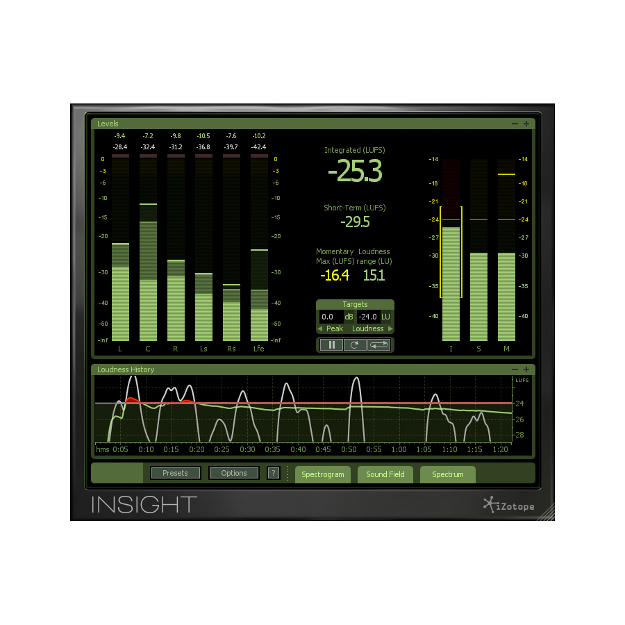 iZotope Insight Digital Download Screenshot 2