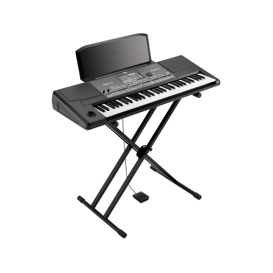 Korg PA600QT Arranger Keyboard On Stand