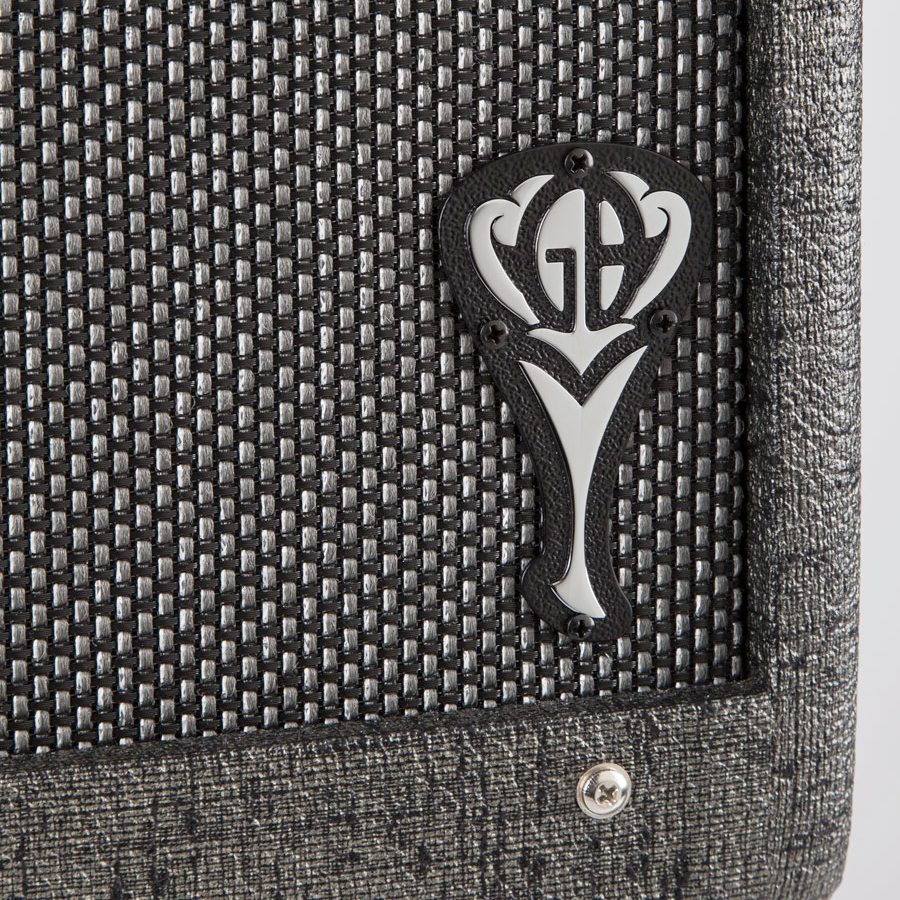 Fender GB Hot Rod Deluxe 112 Enclosure Logo Detail