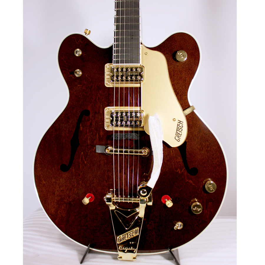 Gretsch G6122-1962 Chet Atkins Country Gentleman - Walnut Stain Blemished Body Detail
