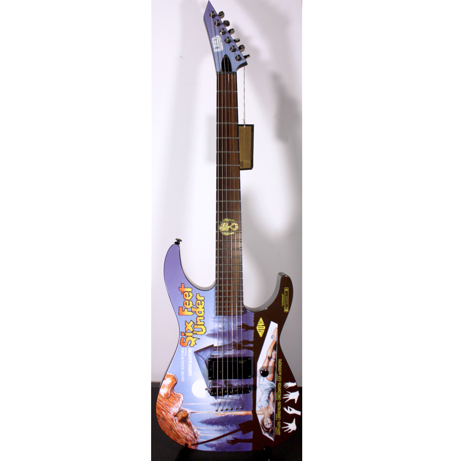 ESP LTD Special Edition 2012 Art Series - Six Feet Under Guitar