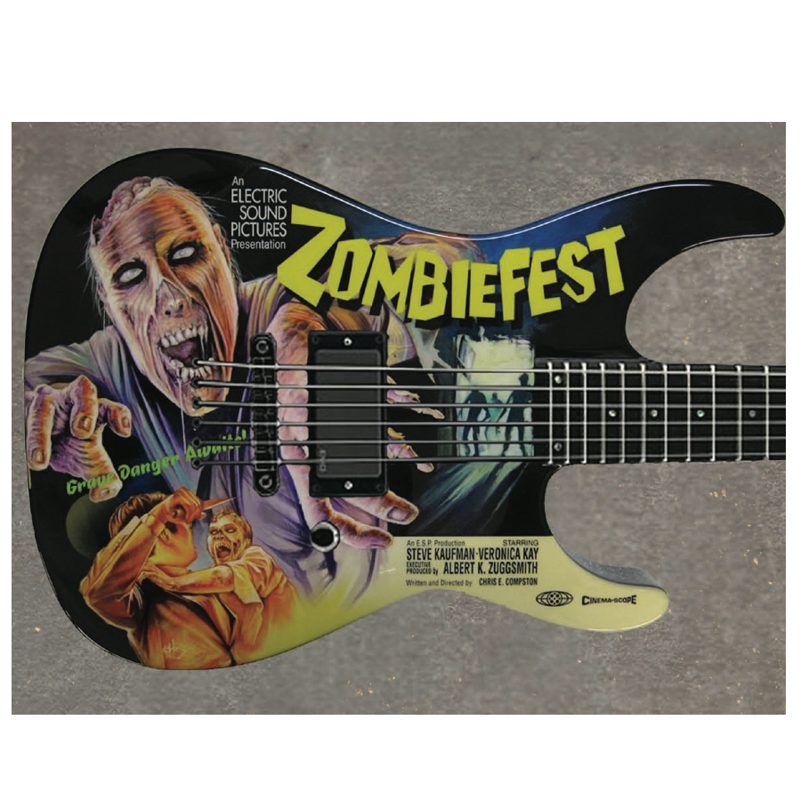 LTD Special Edition 2012 Art Series - Zombie Fest