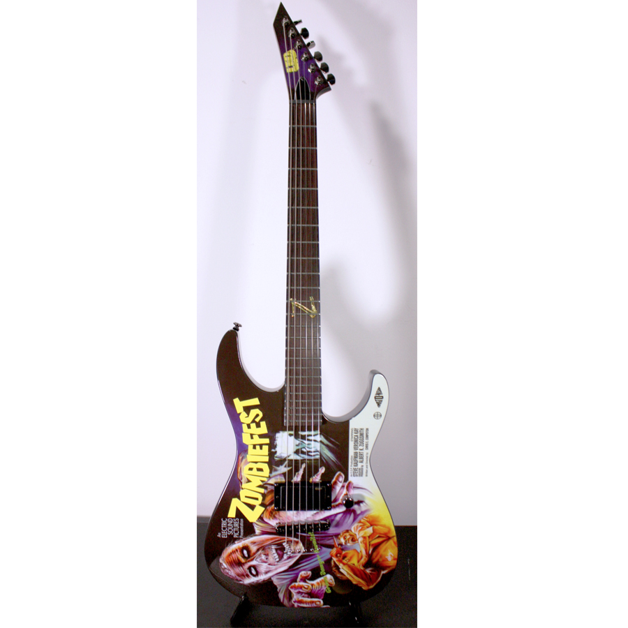 ESP LTD Special Edition 2012 Art Series - Zombie Fest Full View