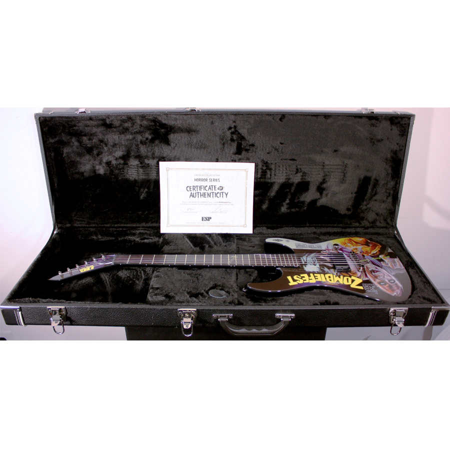 ESP LTD Special Edition 2012 Art Series - Zombie Fest W/ Case