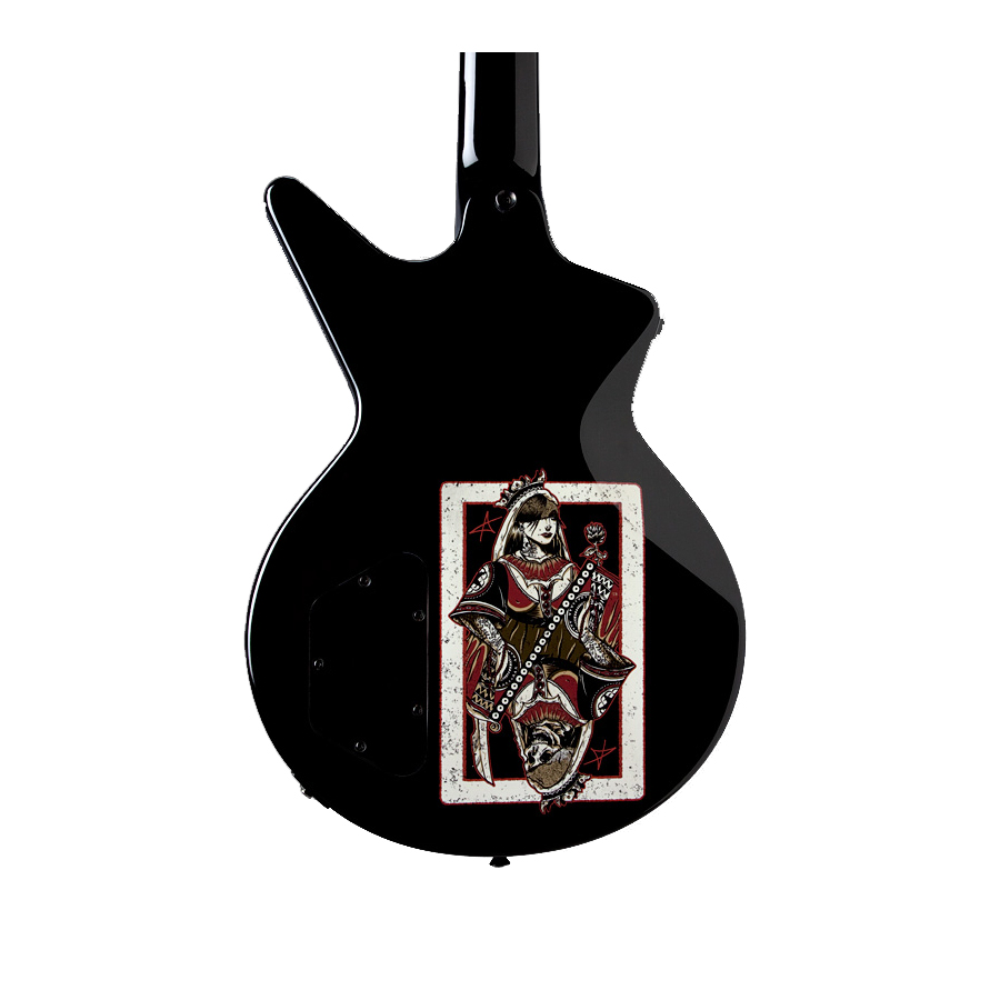 Dean Ashley Purdy Black Veil Brides Outlaw Cadi Bass Body Detail Back