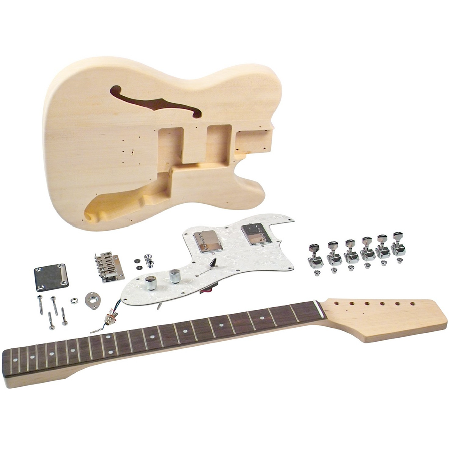 Saga TT-10 Electric Guitar Kit Guitar View