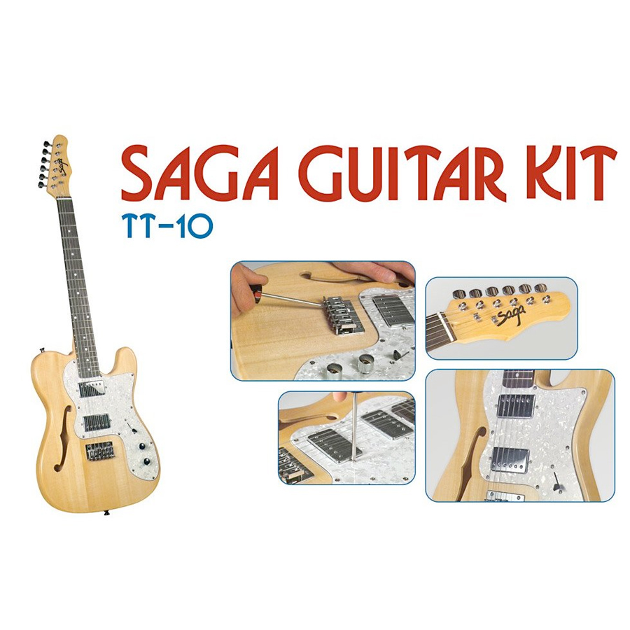 Saga TT-10 Electric Guitar Kit View 2