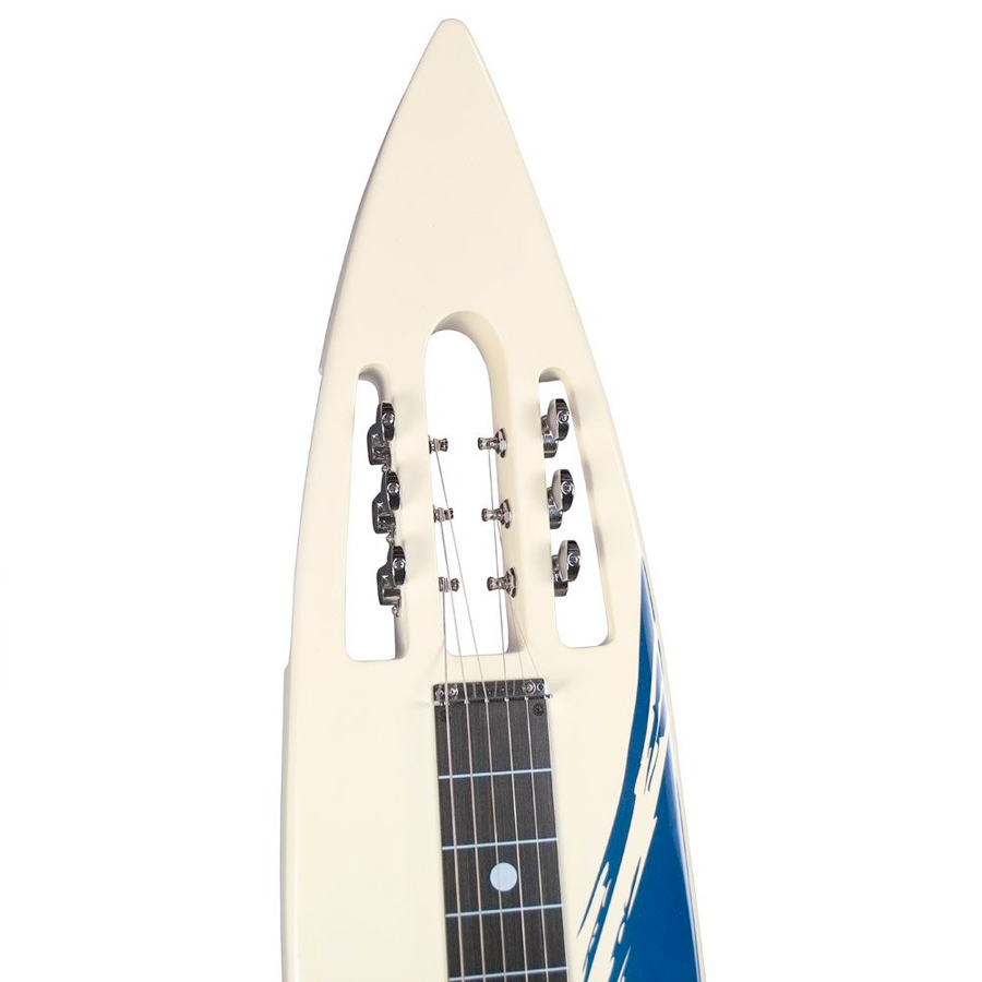 Mahalo MLP-100 Electric Lap Steel Headstock Detail