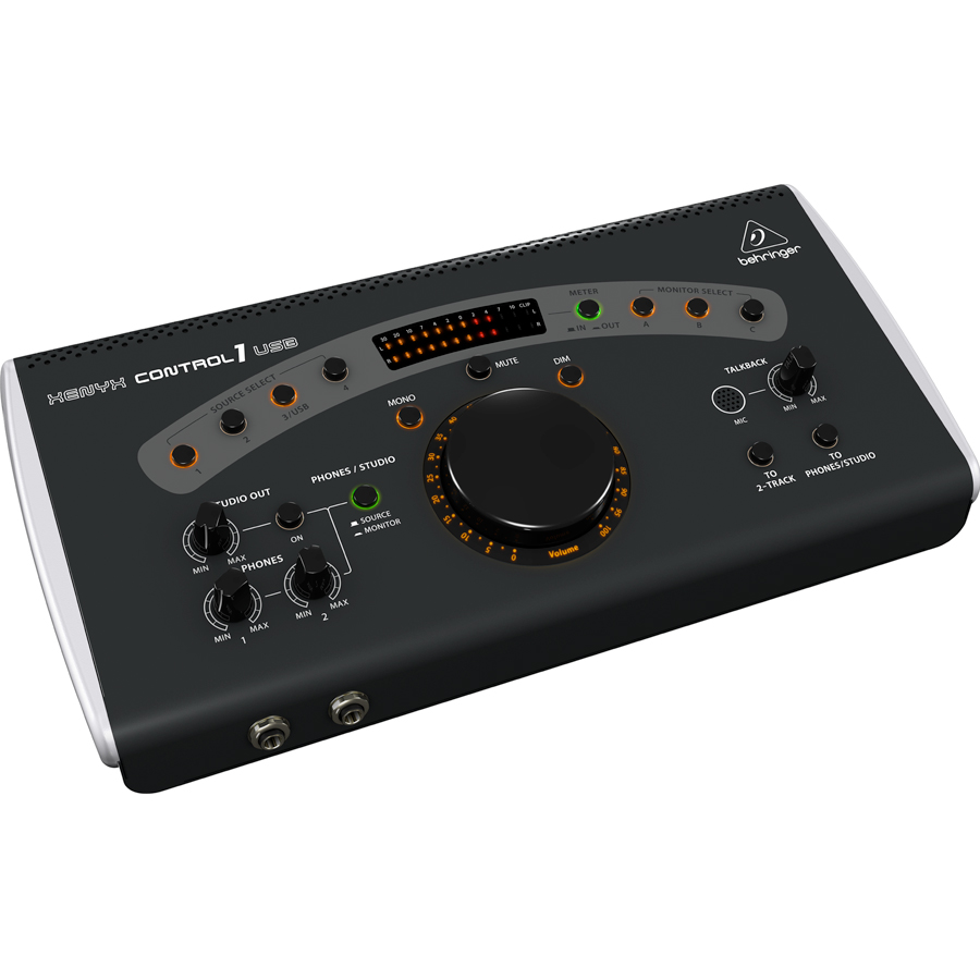 Behringer Xenyx Control 1 USB Front View