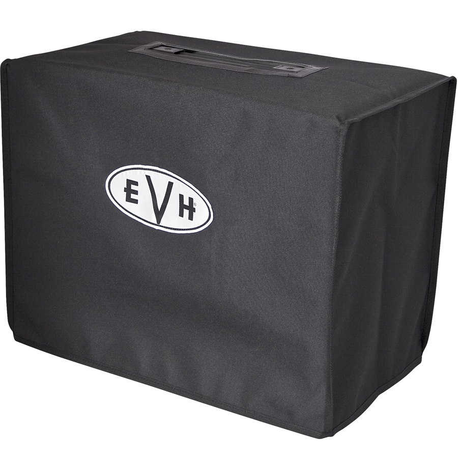 EVH 5150III 4x12 Enclosure Amplifier Cover Angled View