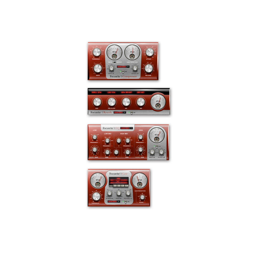 Focusrite Scarlett Plug-in Suite View 2