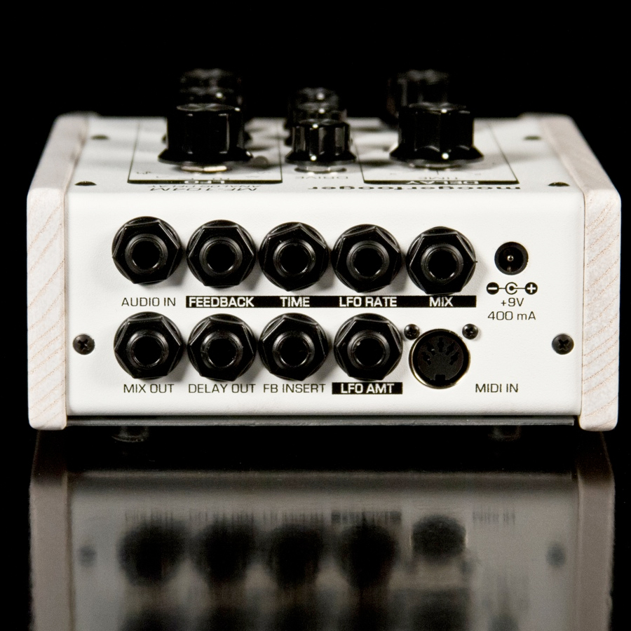Moog MF-104M White Rear View
