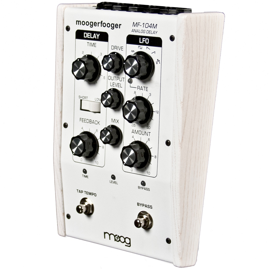 Moog MF-104M White Angled View