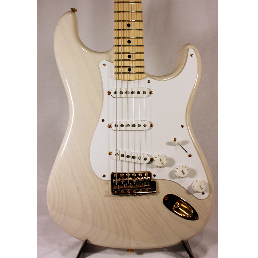 Fender 1957 Stratocaster NOS White Blonde Body Detail