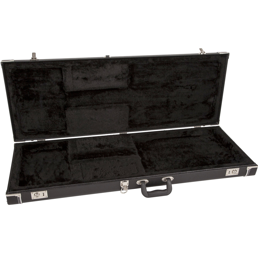Fender Pro Series Guitar Case - Black Opened
