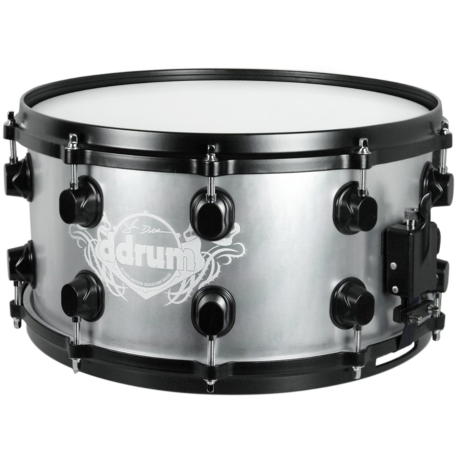 Ddrums Artist Series Shawn Drover Signature Snare Rear View