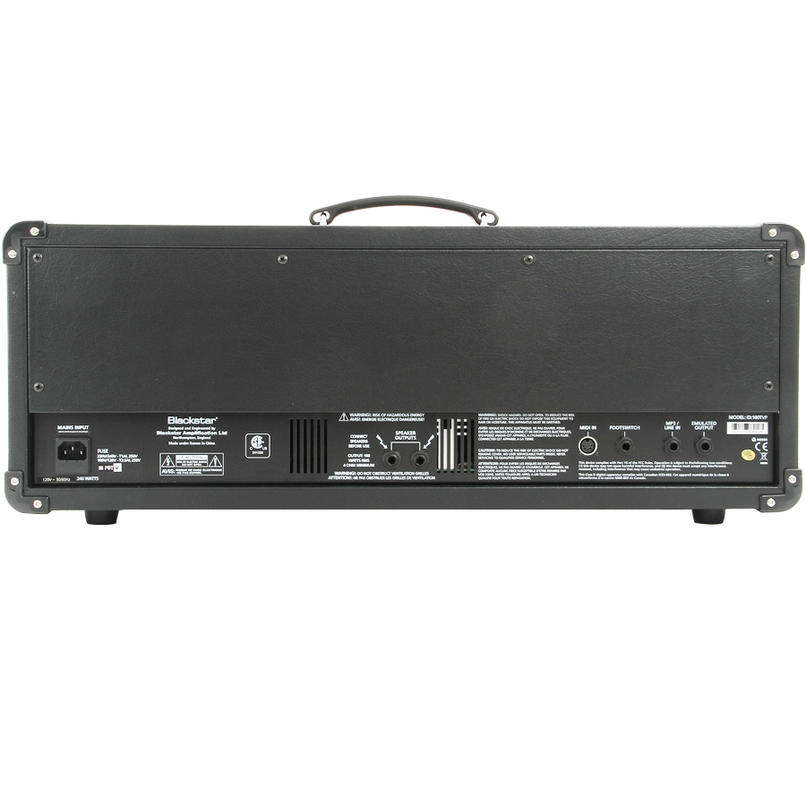 Blackstar ID 100TVP Head Rear View