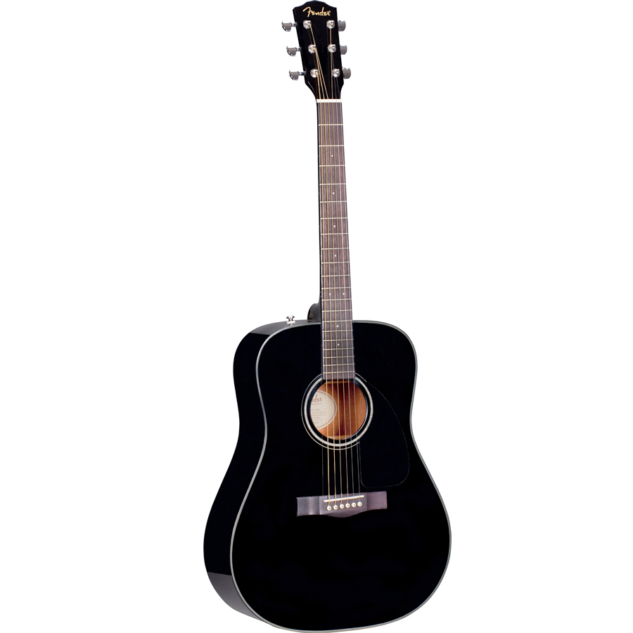 Fender DG-8S Acoustic Pack V2 Angled View