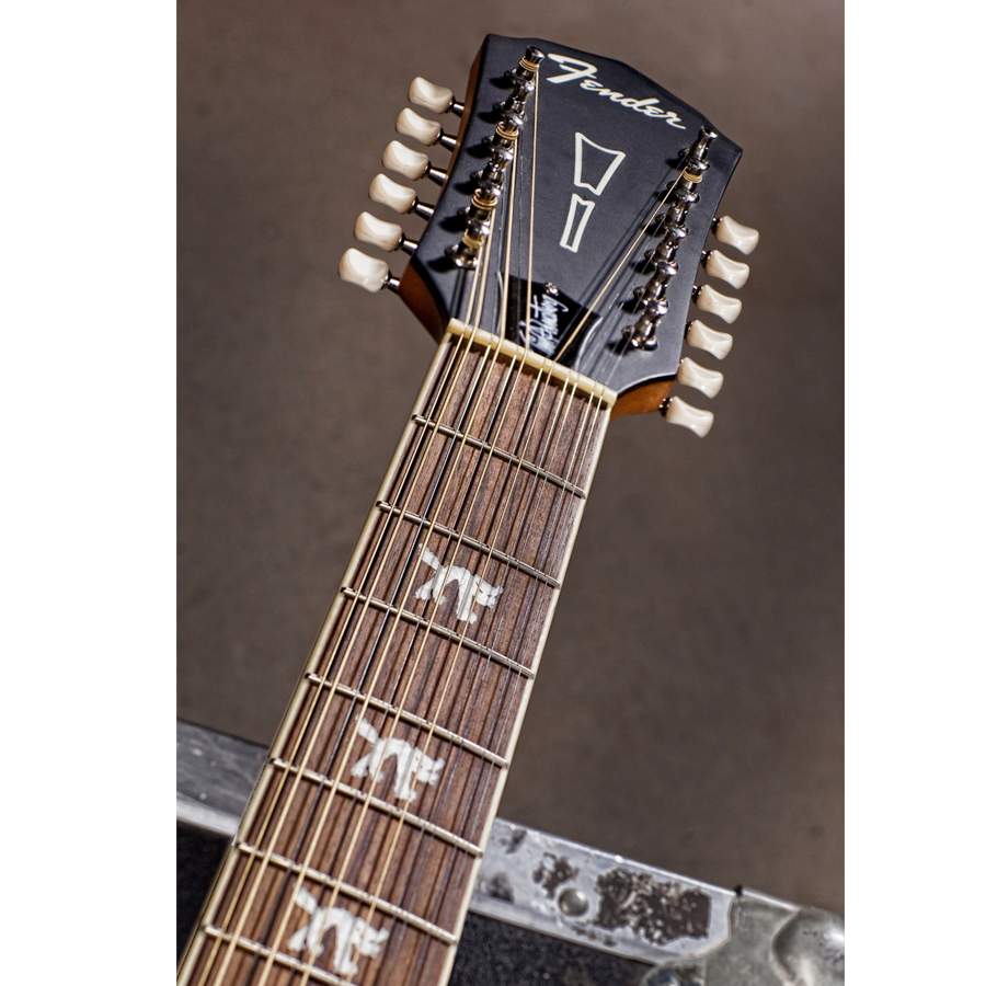 Fender Tim Armstrong Hellcat-12  Neck Detail