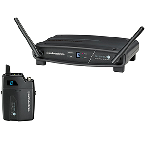 Audio Technica ATW-1101 Digital Wireless Belt Pack System System 10 Digital Wireless Belt Pack System
