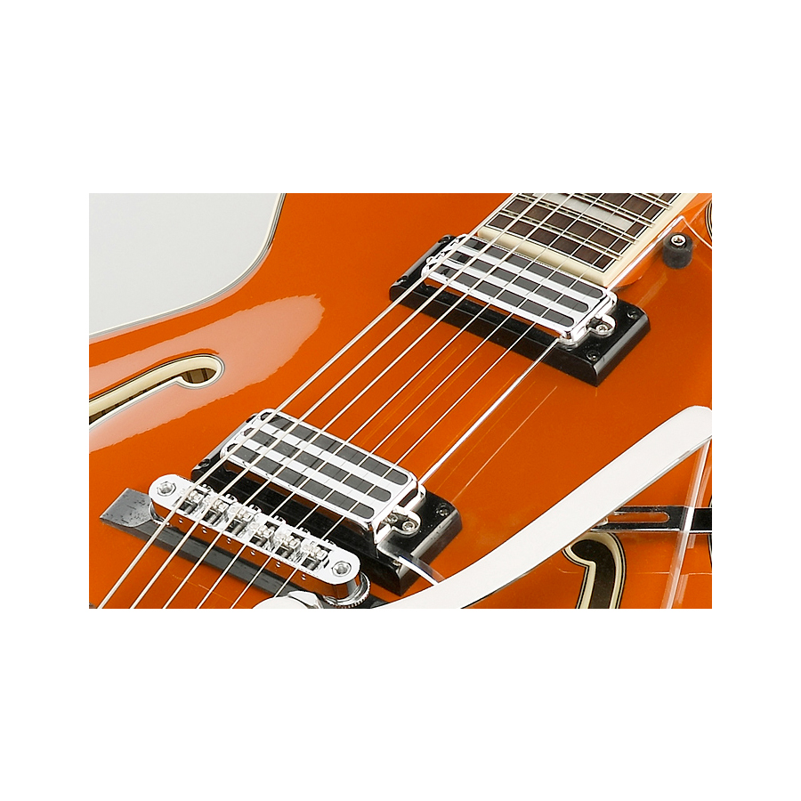 Ibanez AGR63TTLO Twilight Orange Mini humbucker pickups