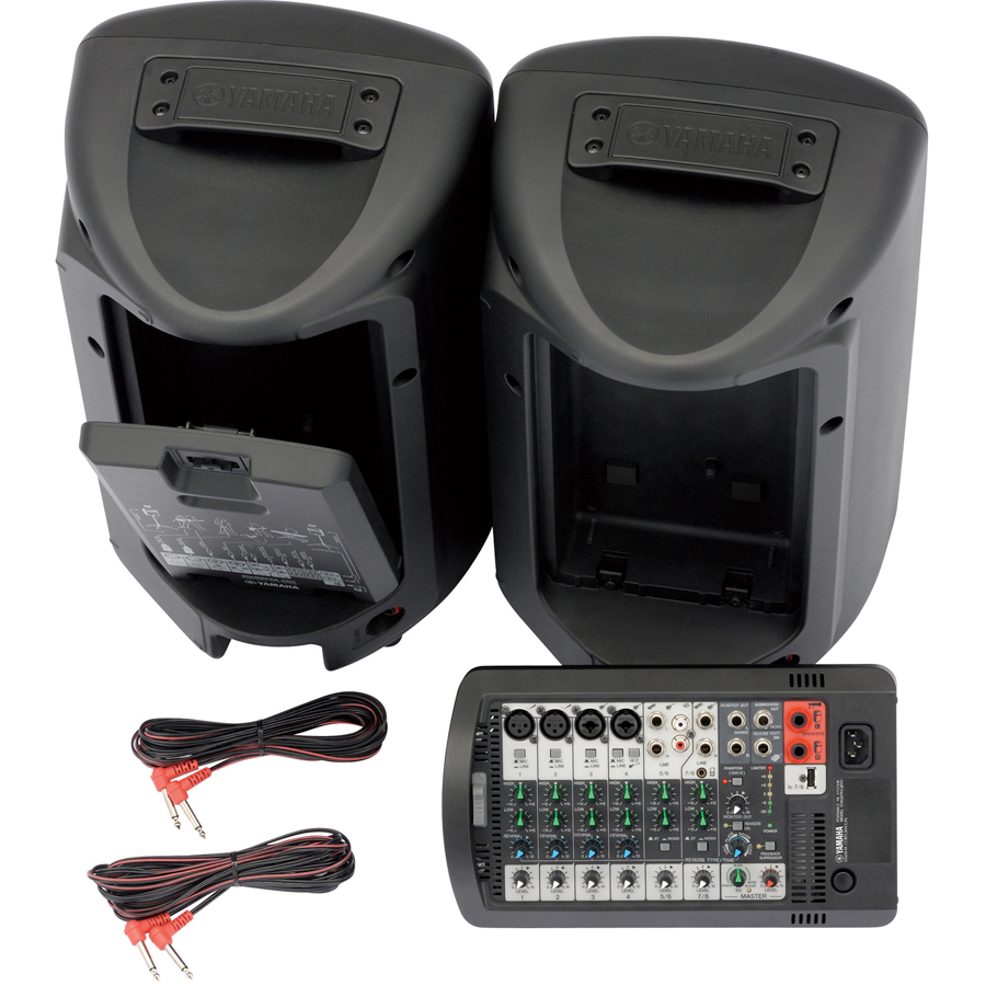 Yamaha STAGEPAS 400i Rear View Set