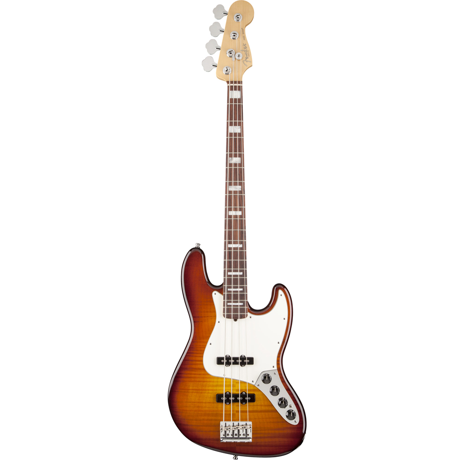 Select Active Jazz Bass Tobacco Sunburst