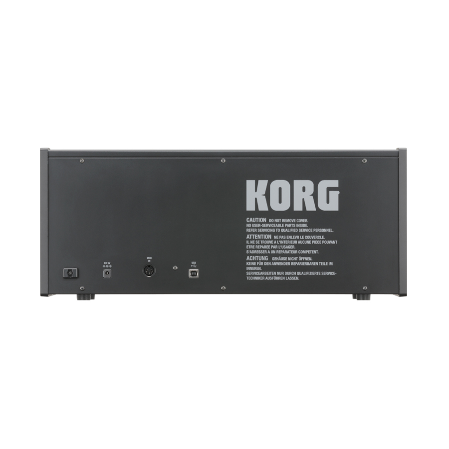 Korg MS20 Mini Rear View