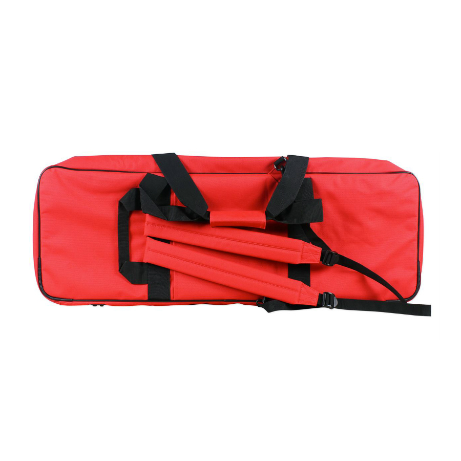 Yamaha MX49 Bag Red Rear View