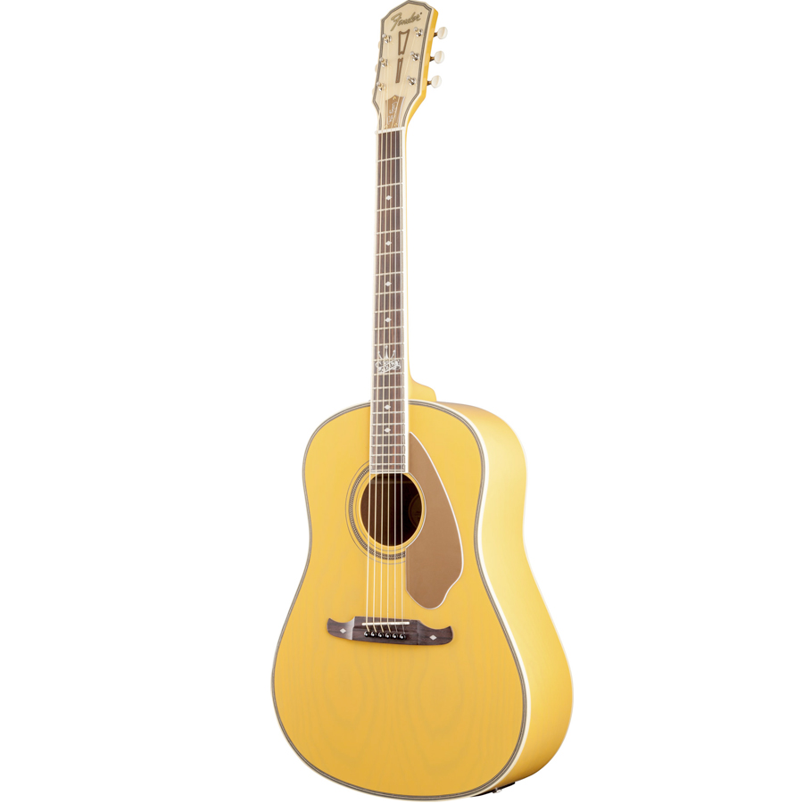 Fender Ron Emory Loyalty Slope Shoulder Ash Butterscotch Right Angle