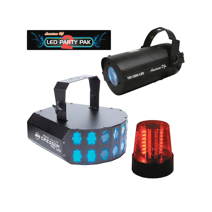American DJ LED Party Pak 2 Set