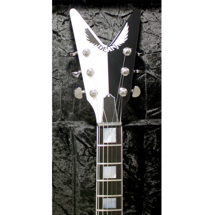 Dean USA Michael Schenker Signature V Retro Front Headstock