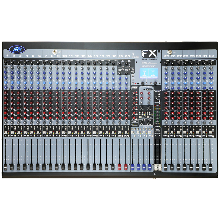 Peavey FX2 32 Top View
