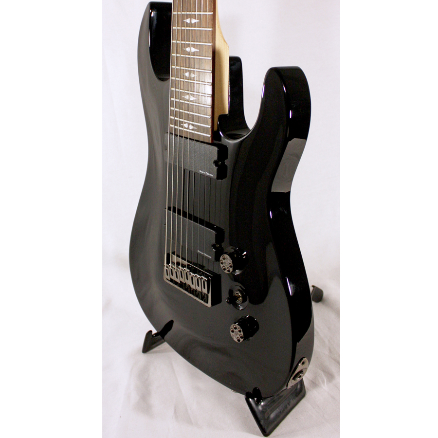 BC Rich Outlaw 8 Gloss Black Blemished Body Detail