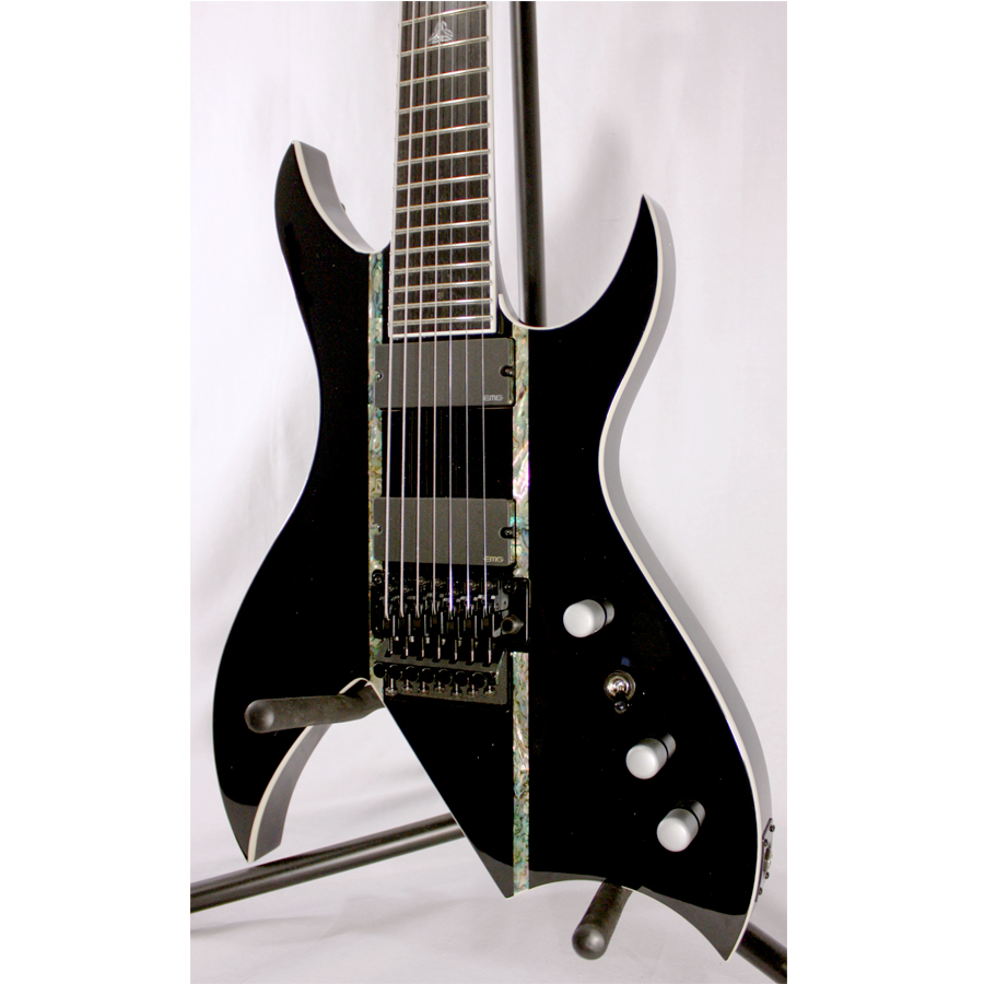 BC Rich Steve Smyth Signature Onyx Blemished Body Detail