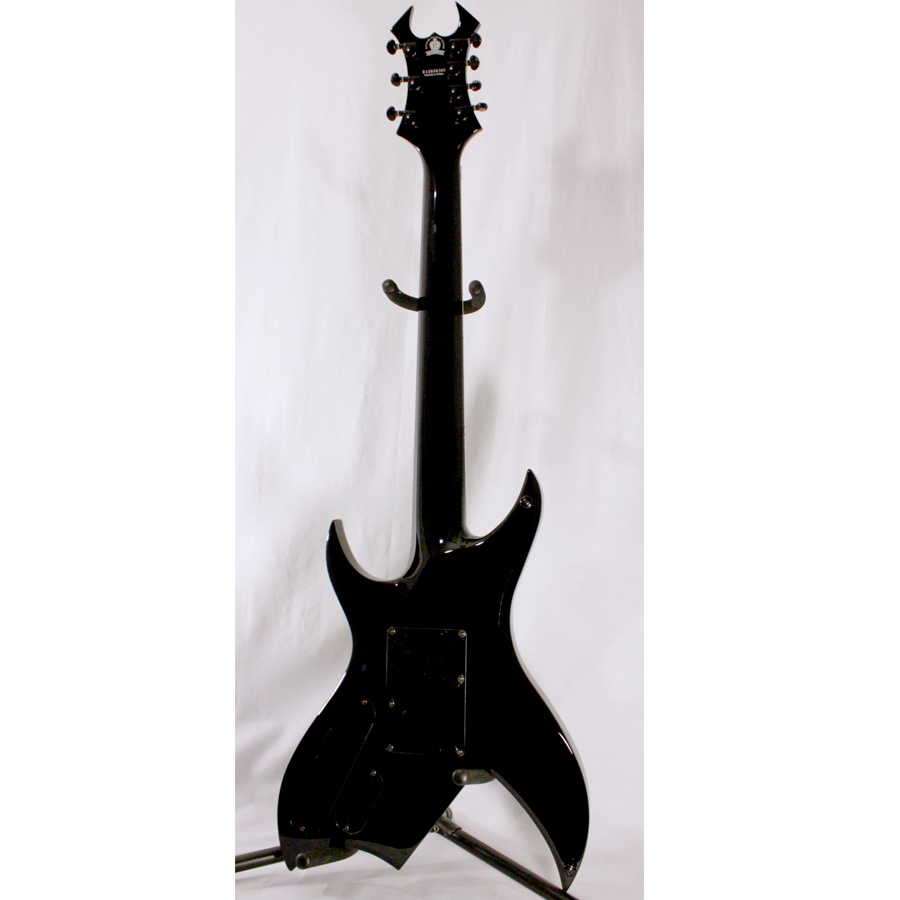 BC Rich Steve Smyth Signature Onyx Blemished Rear View