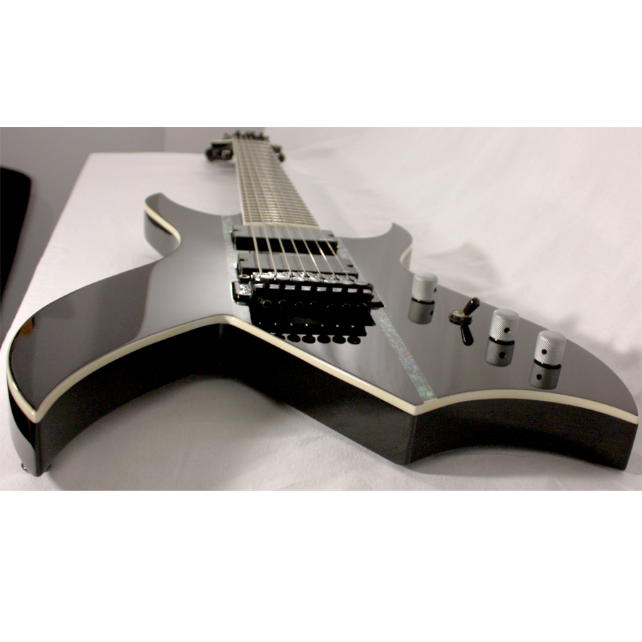 BC Rich Steve Smyth Signature Onyx Blemished Bridge View