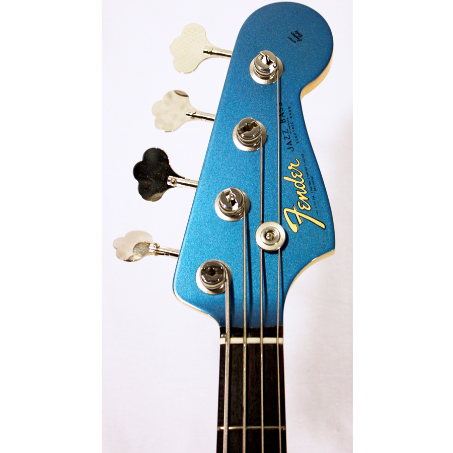 Fender American Vintage 64 Jazz Bass Lake Placid Blue Headstock Detail