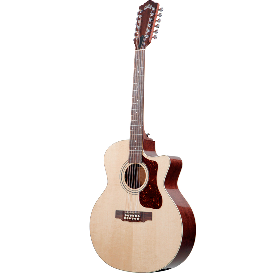 Guild F-212XLCE Standard Natural Right Side