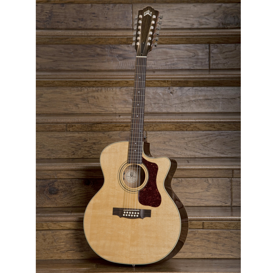 Guild F-212XLCE Standard Natural View 4
