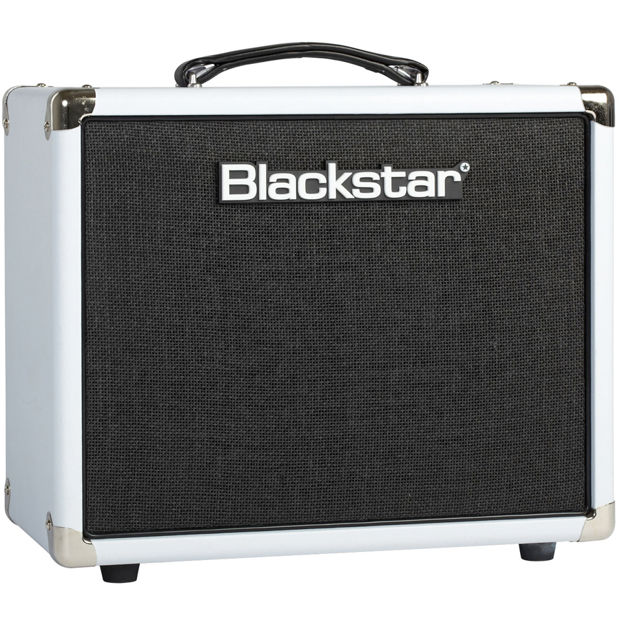 Blackstar HT5RW Limited - Arctic White Angled View