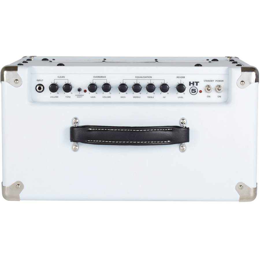 Blackstar HT5RW Limited - Arctic White Top View