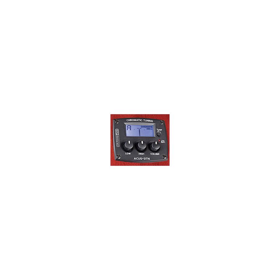 ESP X-Tone AC-10E - Black Left-HandedPreamp/Tuner