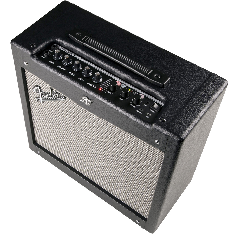 Fender Mustang II V2 Top Angle View